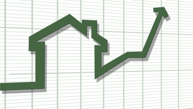 Housing finance for new properties is on the up when compared with the same time in 2014.
