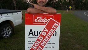 SOLD Selfie of the week with Ryan Creed for Elders Real Estate Grafton