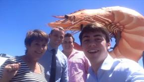 Ballina sales team selfie for Elders Real Estate Grafton