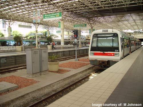 Mandurah rail line