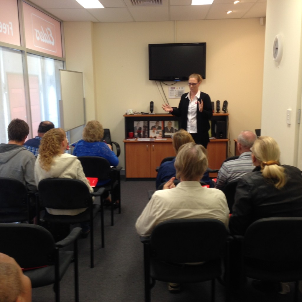Rebecca Robinson - Elders Real Estate Central - Landlords Seminar