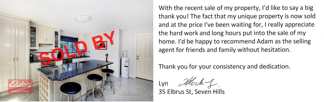 35 Elbrus St Seven Hills - Photo and Testimonial