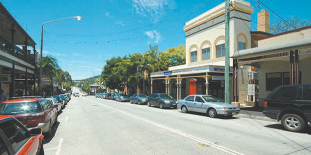 History of shops in Bangalow